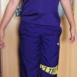 Спортивная одежда, костюм Puma оригинал, футболка и бриджи р.140