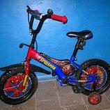 Велосипед детский с боковыми колесами. Торг.