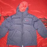 Двухсторонняя куртка- пуховик Benetton на 4-6 лет