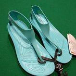 женские босоножки Crocs Serena Flip флипы крокс Босоножки крокс Serena размер w7 w8 w9