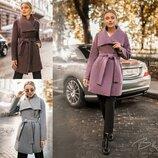 Стильные Кашемировые пальта в 3-х расцветках