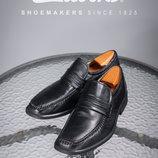Кожаные лоферы Clarks 42,5р мужские мокасины туфли Кларкс