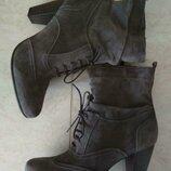 Полусапожки,ботильоны,ботинки оксфорды бренд 5th avenue кожа новые с бирками