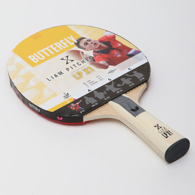 Ракетка для настольного тенниса Butterfly Liam Pitchford LPX1 85080