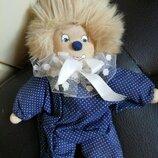 Клоун кукла вальдорфская