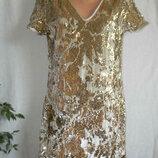 Красивое новое платье пайетки 12p