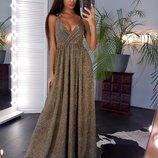 Платье, люрекс хамелеон, С и М, 3 цвета