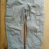 Новые брюки карго на хб подкладе TU 3-4 года 98-104 рост