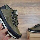 Ботинки мужские New Balance 754 темно зеленые