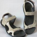 Mante Xbiom Кожаные золотистые женские летние сандалии босоножки без каблука
