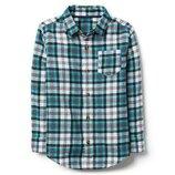 Фланелевая рубашка для мальчика 5-7,7-9,14-15 лет crazy8