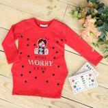 Платье для девочки 98-116 рост Breeze Турция