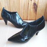 Кожаные ботильоны, ботинки, удобные туфли Geox