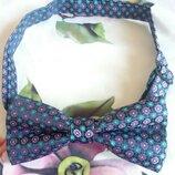 Красивая фактурная галстук-бабочка