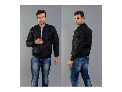 Стильная куртка мужская -бомбер мод.1226