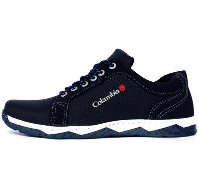 Мужские кроссовки - туфли спортивные синего цвета Клс-27сн