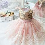 детские нарядные платья пошив под заказ