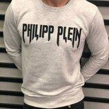 Стильный мужской свитшот Philipp Plein,2 цвета S-M-L-XL-ХХL