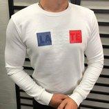 Стильный мужской свитшот Lacoste S M L XL XXL