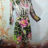 Трикотажное платье 44р