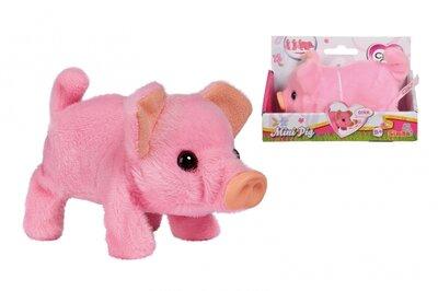 Мягкая игрушка Свинка Мини Пиг Chi Chi Love ходит хрюкает на батарейках Simba 5893378