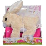 М Яка іграшка CCL Кролик , що ходить, пищить та рухає вухами та носиком, 20 см.,3 , 5893380