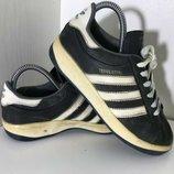 Женские кеды Adidas Адидас 37рр 23см идеал оригинал черные