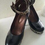 Обалденные кожаные туфли