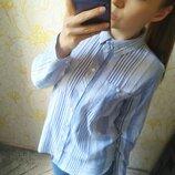 Шикарная рубашка в полоску