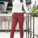 Женские брюки креп-костюмная ткань микс цветов хи сезона скл.1 арт.58128