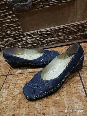 Шикарные комфортные туфли мокасины