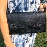 Сумка женская маленькая черная, женский клатч, сумка жіноча