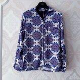 Размер S Обалденная фирменная натуральная пижамная домашняя кофта