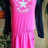 Платье спортивное с длинным рукавом converse