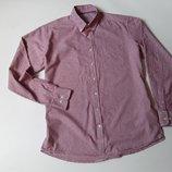 Рубашка приталенная в клетку