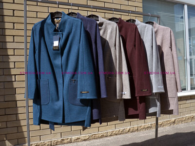 Пальто шерстяное Belanti,осень и зима. модель 173, много цветов