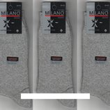 Носки мужские демисезонные х/б Milano LYCRA, Турция, 40-45 р 12 пар