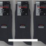 Носки мужские демисезонные х/б Milano LYCRA, Турция,40-45 р,12 пар