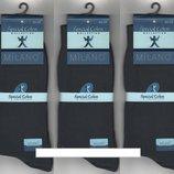 Носки мужские демисезонные х/б Milano Special Coton, Турция, без шва,40-45 р.серые. 6 пар