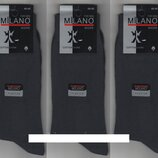 Носки мужские 100% хлопок Milano Parfume, Турция,40-45 размер,12 пар