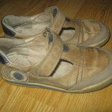 шкіряні туфлі встілка 20см