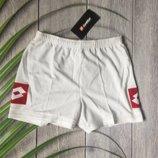 Мужские шорты спортивные подростковые белые