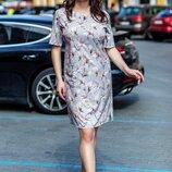 Прекрасное женское платье ткань Софт 56, 58, 60 размер батал