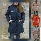 Модные качественные куртки, парки, пальто детские 122-158