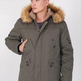 Зимняя мужская куртка парка 46-54 размеры