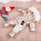 Мега модный и теплый детский зимний комбинезон