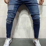 Стильные мужские джинсы 29-36