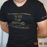 Стильная фирменная футболка Warsteiner.л .