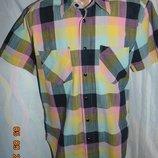 Стильная яркая нарядная рубашка шведка сорочка Solidus.м-л.