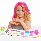 Just play Barbie Барби Манекен голова для причесок и маникюра JPL62530 Deluxe Styling Head-Blonde